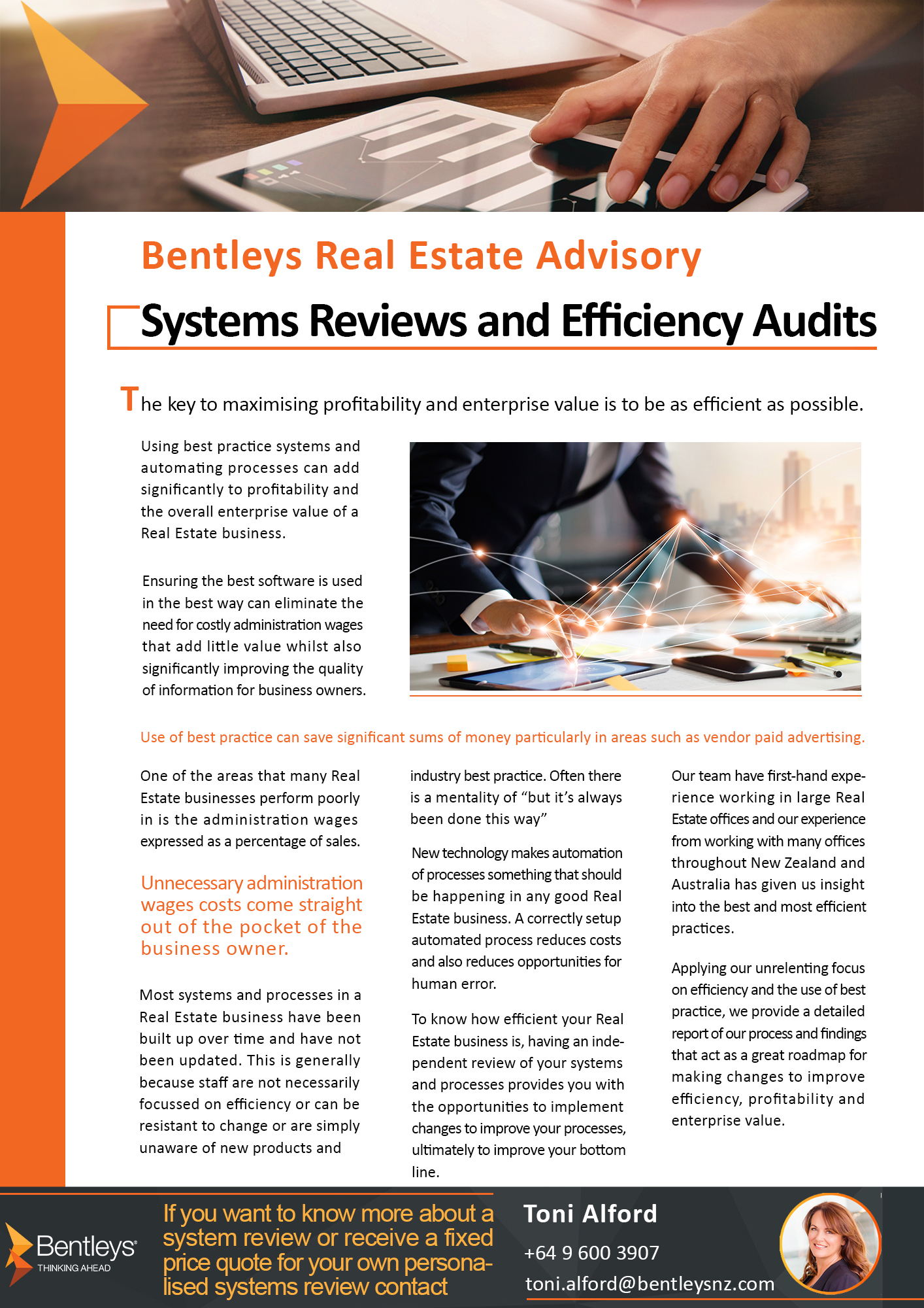Systems Review and Efficiency Audits
